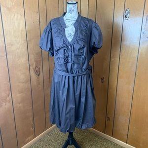 Torrid poplin dress